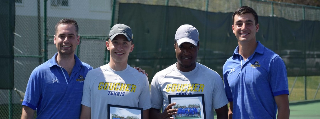 Goucher Men's Tennis Salutes Seniors By Clinching Home Court Advantage In Landmark Conference Semifinals