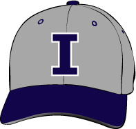 Irvine Valley College Lasers Hat with Logo