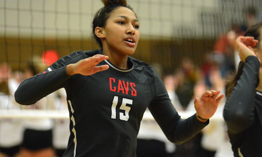VOLLEYBALL SIGNS KALANI HAYES TO NATIONAL LETTER OF INTENT