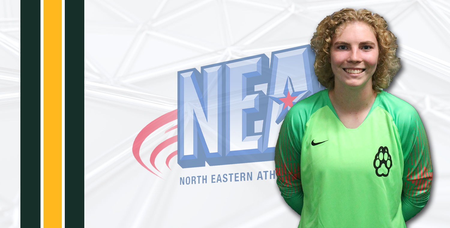Pegg Named NEAC Defensive Player of the Week
