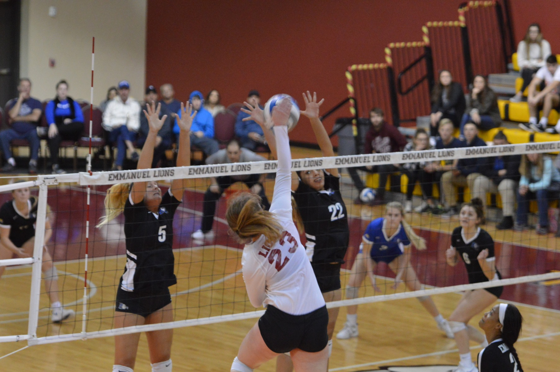 Volleyball Advances to Conference Carolinas Championship Match After Sweeping Barton
