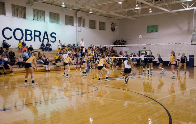 Cobras Drop Four Set Match to Mars Hill