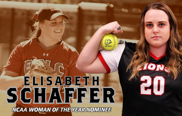 ENC Softball Alumna Elisabeth Schaffer Nominated for NCAA Woman of the Year