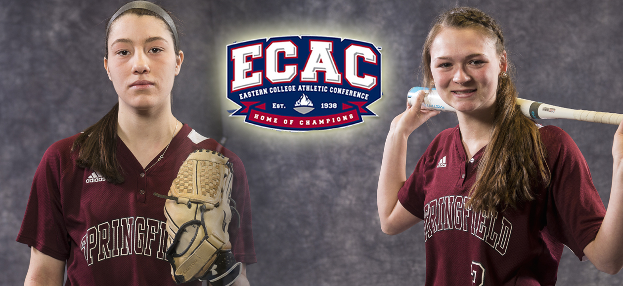 Gasdia and Wheeler Garner ECAC Division III New England Softball Weekly Honors