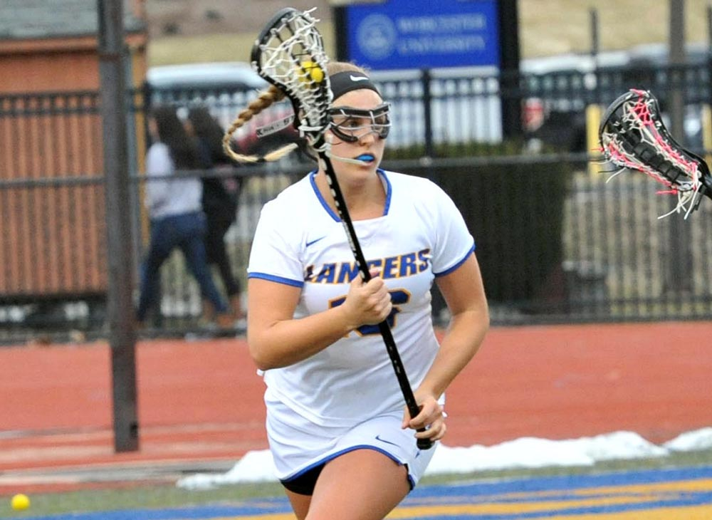 Women's Lacrosse Wins First Conference Game against Massachusetts Maritime, 15-6