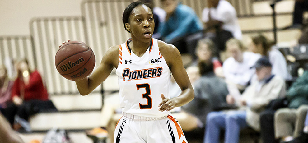 Benedicta Makakala had 11 points in 40 minutes for the Pioneers
