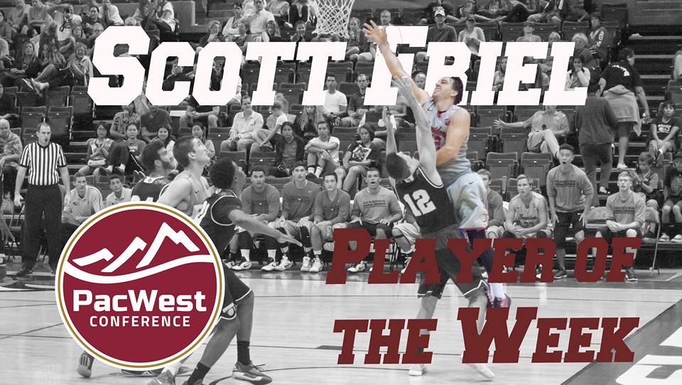 Friel and Nelson earn PacWest weekly honors