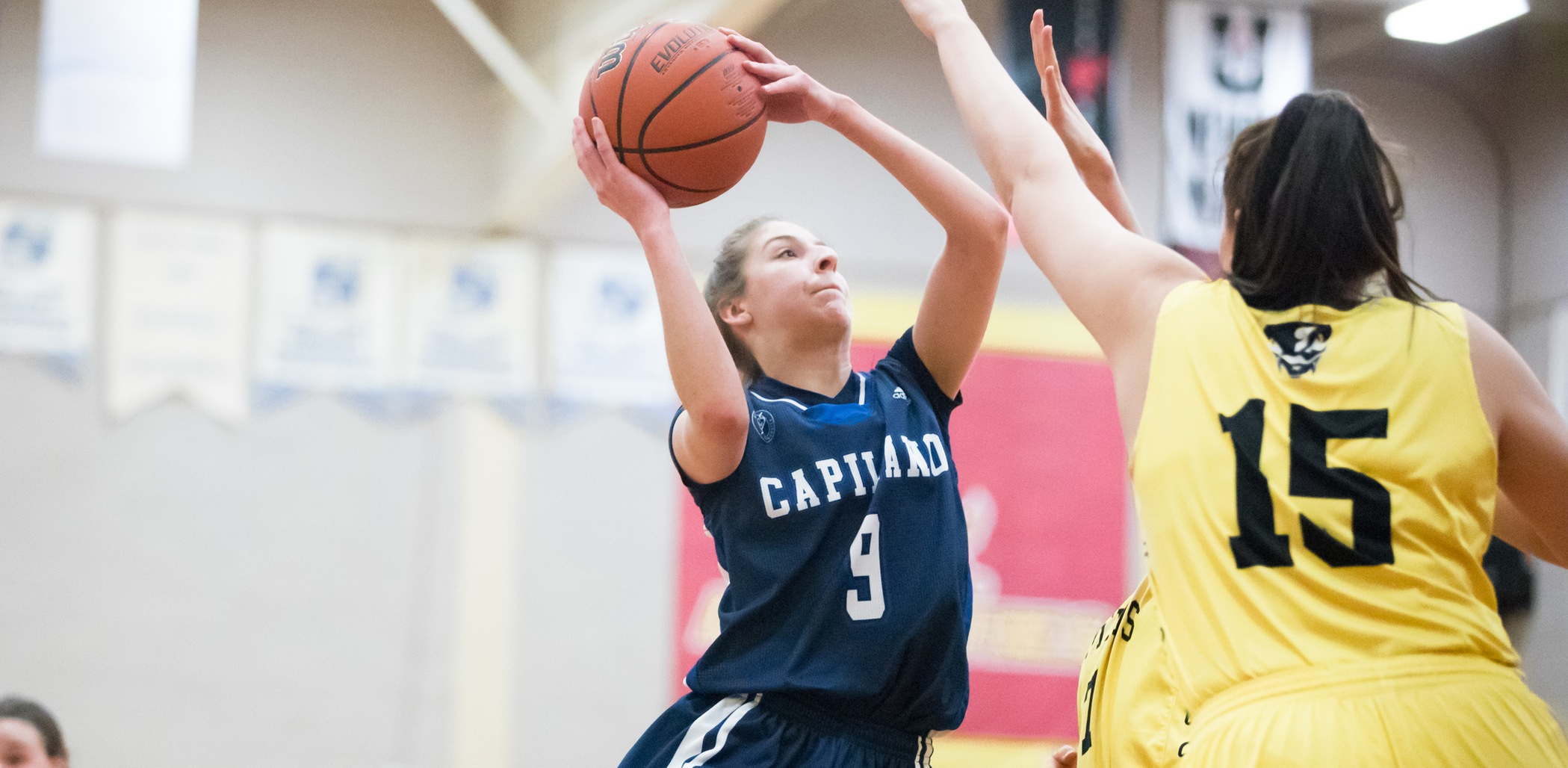 Capilano's fifth-year guard Sherrie Errico. Photo courtesy the CCAA