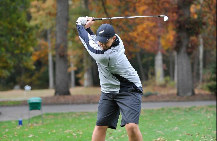Men's Golf 16th After Day One of Williams Invitational