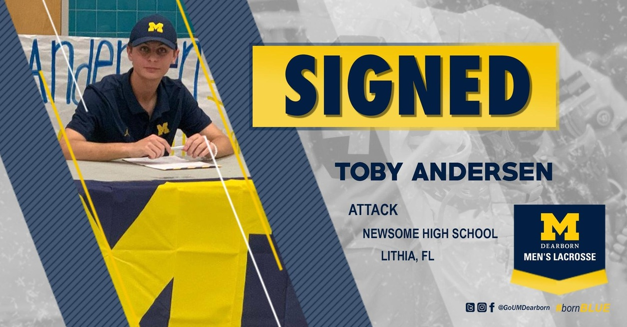 Florida native Andersen signs with Men's Lacrosse Class of 2020