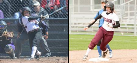 Kristin Lopez and Devan Parkison Receive NFCA Softball All-Region Accolades
