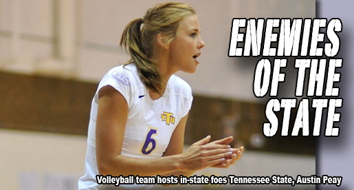 In-state rivals visit Eblen Center for pair of weekend matches