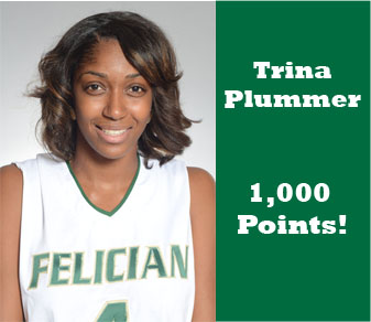 Plummer Scores 1,000th, Nets 34, But Felician Loses