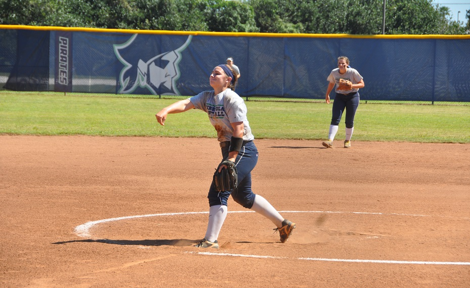 Strickland's Walkoff Gives Pirate Softball Victory Over Gulf Coast