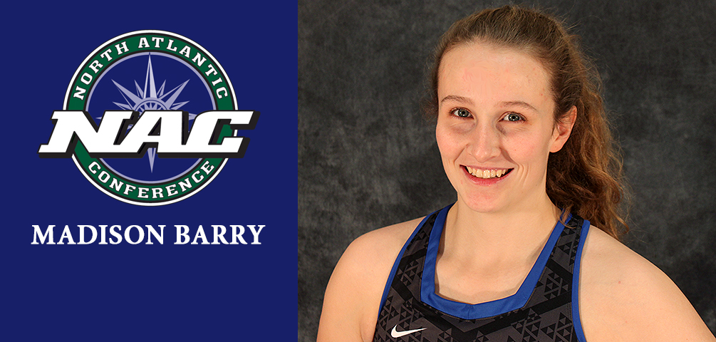 Barry Named NAC Rookie of the Week