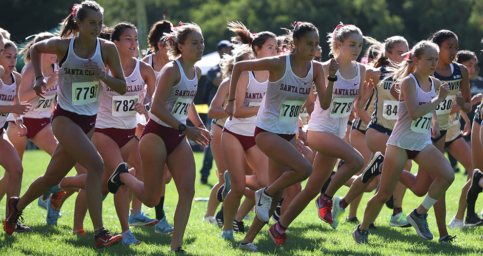 Santa Clara had four women's runners score for the second straight meet at the Vanderbilt Commodore Classic on Saturday morning (Nabholz, Fujiwara, Obermeyer, King).