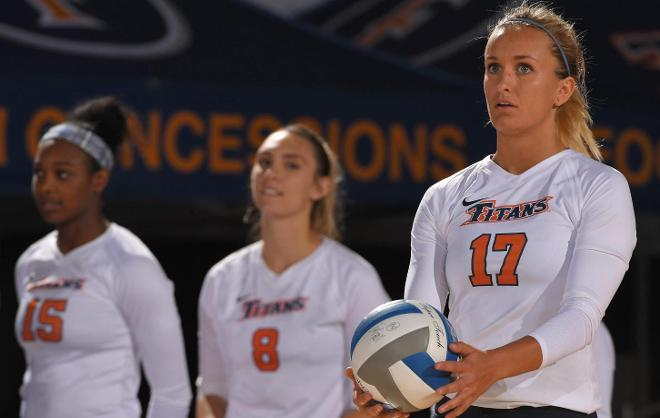 Titans End Drought; Topple UCR in Big West Opener