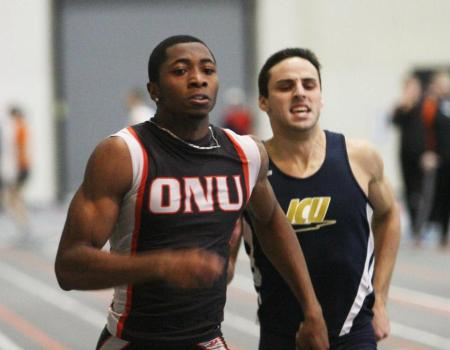 Men's Indoor Track & Field finishes fifth at OAC Indoor Track & Field Championships