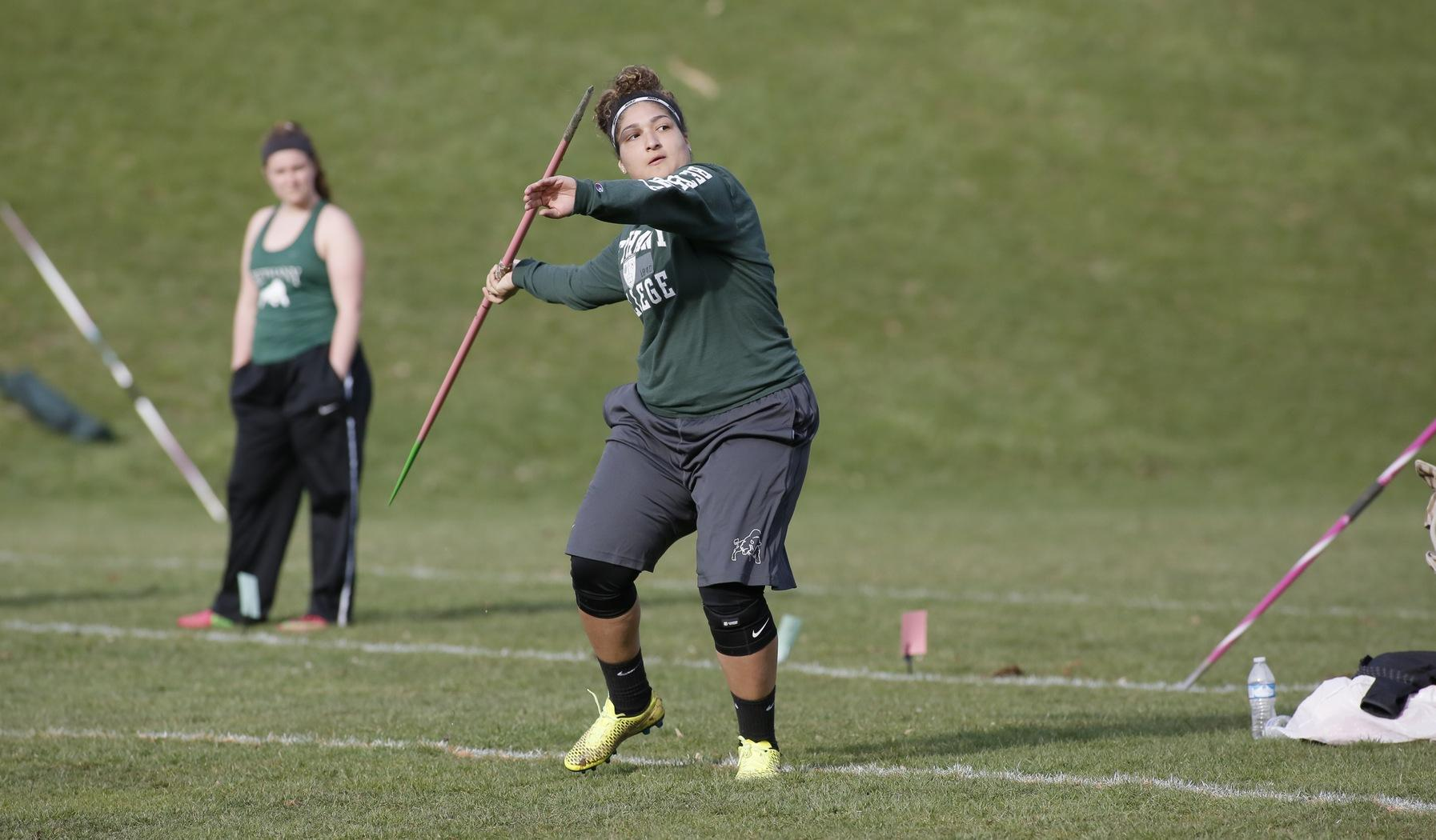 Bison women compete at Westminster Invitational