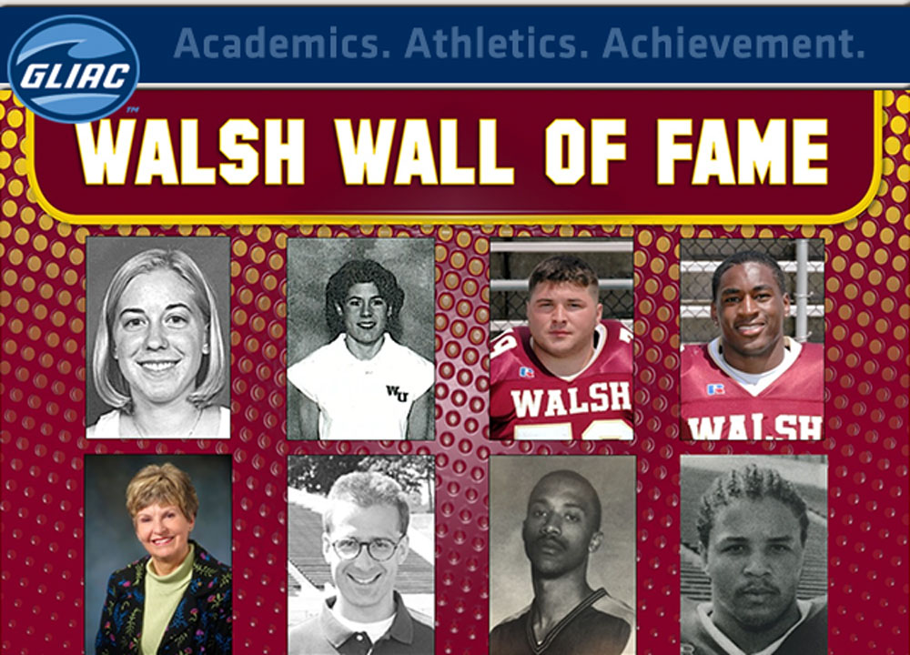 Walsh Announces Class of 2015 Wall of Fame Inductees