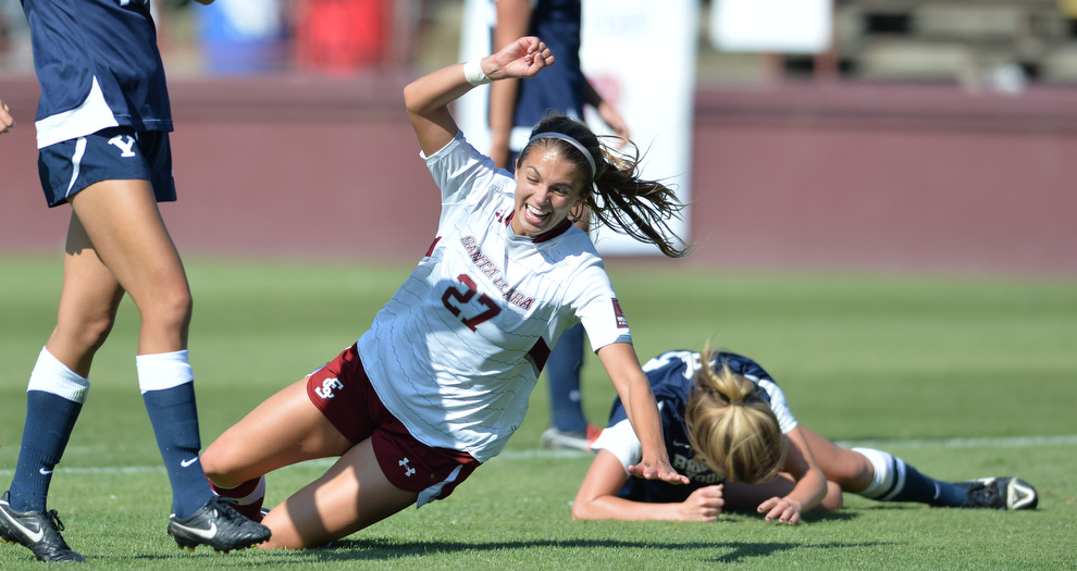 Speidel's Late Goal Gives Broncos Win Over BYU