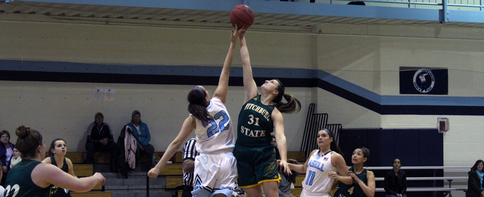 Raiders Down Women's Hoops 76-54