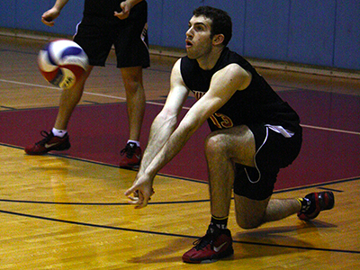 Men's Volleyball Earns First-Ever Doubleheader Sweep