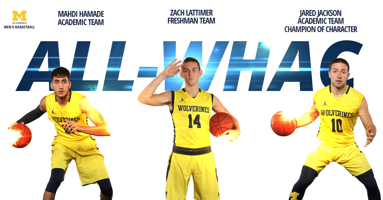 Lattimer Leads UM-Dearborn All-WHAC Honorees