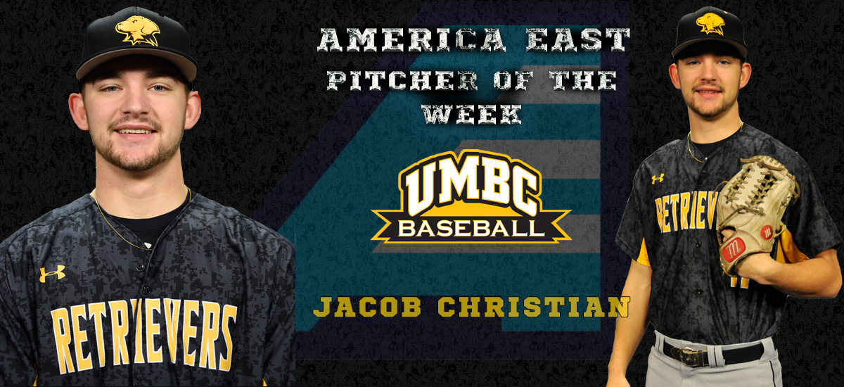 Christian Named America East Pitcher of the Week