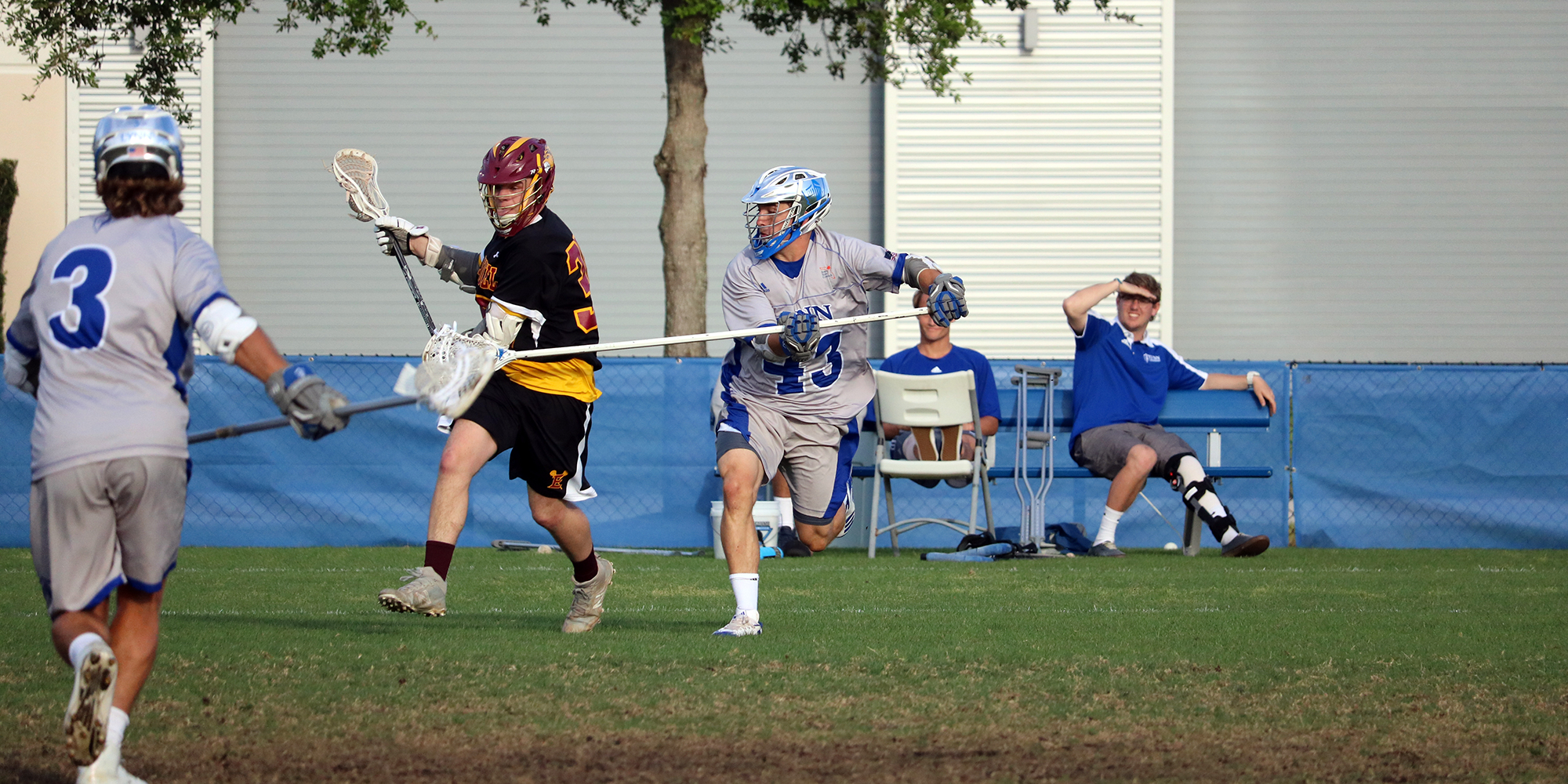 Lacrosse Caps Early Season Home Stretch with Third Straight Victory