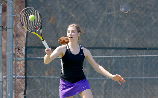 Sophomore Emily Walsh has been named The University of Scranton Athlete of the Week after leading the Royals to the Landmark Conference championship.