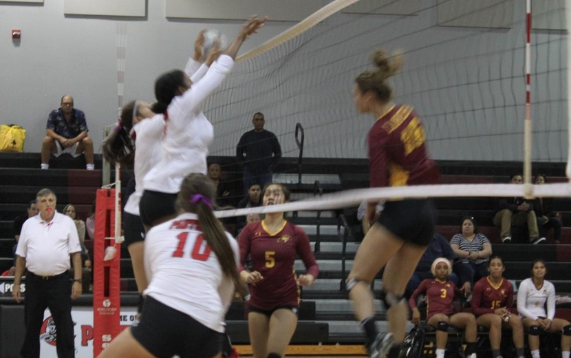 LADIES FALL TO PASADENA IN FOUR