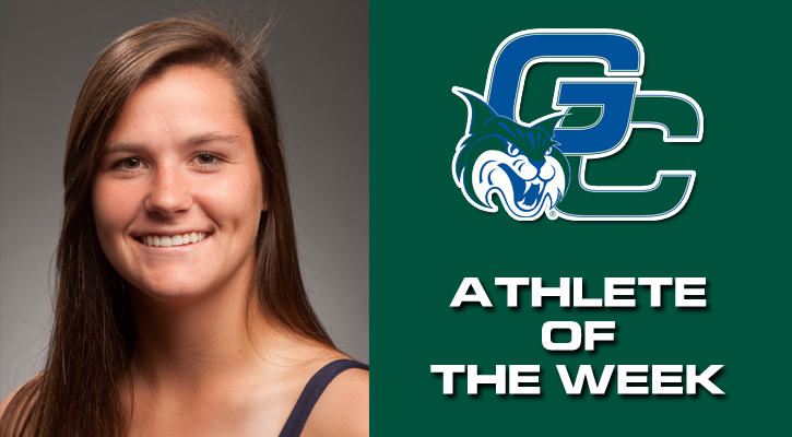 Veilleux Claims GC Athlete of the Week Honors