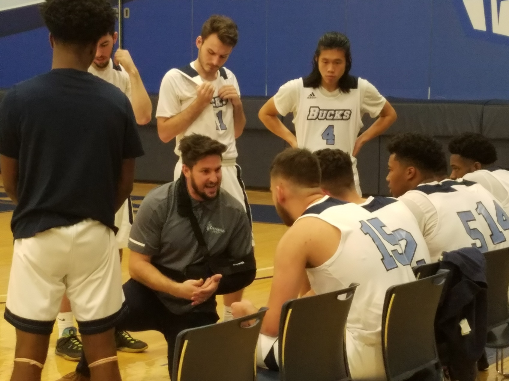 Men's Basketball: Back in action