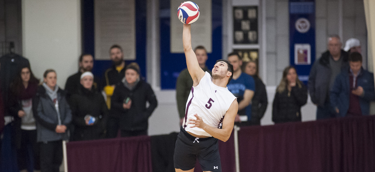 No. 1 Men's Volleyball Handles Sage and Johnson & Wales