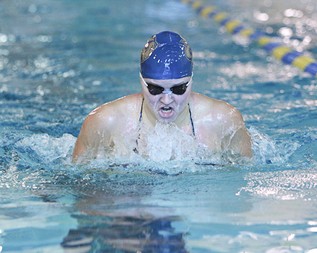 Alexandra Polivanchuk repeats as NEAC Women's Swimming Student-Athlete of the Week