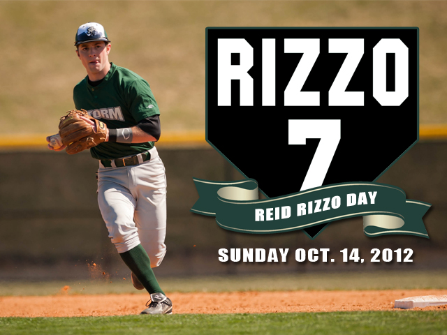 UPDATE:  Reid Rizzo Day Moved to Saturday, Oct. 13 at 3 p.m.