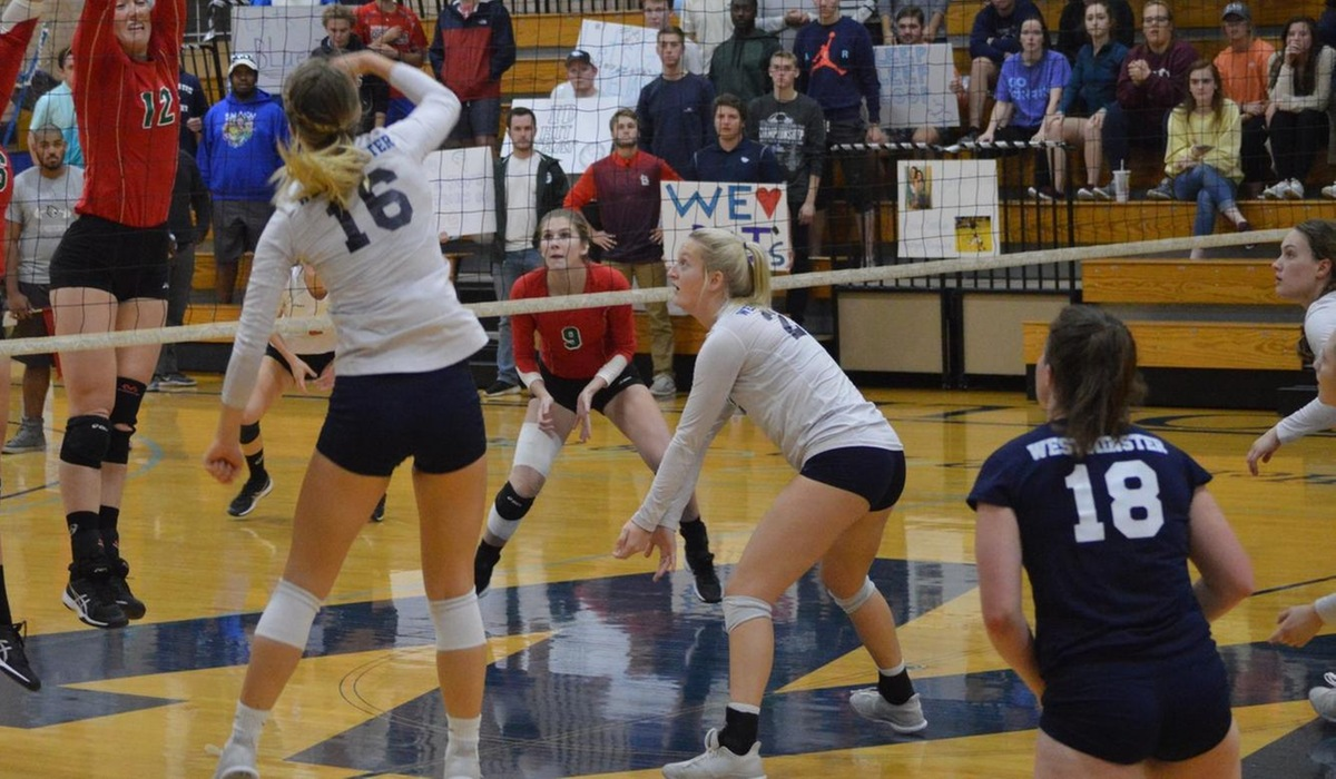 Westminster Westminster Volleyball Ends Season in Five-Set Thriller with No. 1 Webster