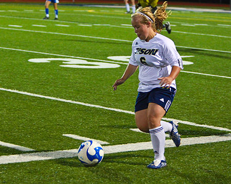 Bison net two second half goals to rally past Washington Adventist