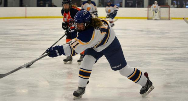 Sweet Scores First Career Goal As JWU Women's Hockey Falls 3-1 To NEC