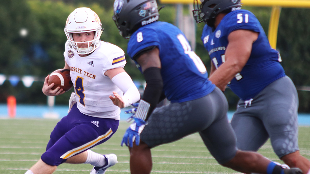 Fisher throws Tech-record six TDs as Golden Eagles top Eastern Illinois