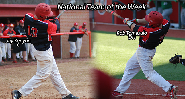 Two More Hornets Named to National Team of the Week