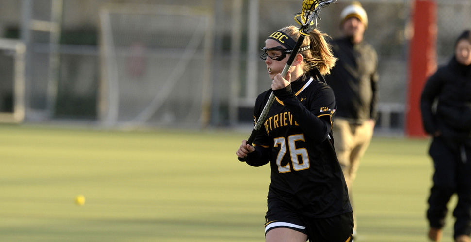 Women's Lacrosse Completes Comeback to Defeat Manhattan, 12-11