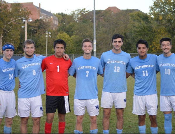 Westminster Men's Soccer Falls to Fontbonne on Senior Night