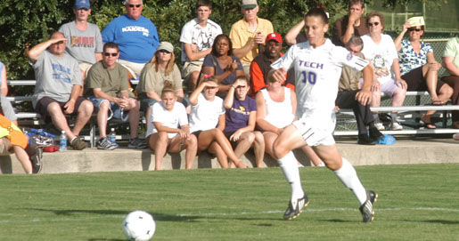 Youthful Tech squad topped in season opener by MTSU, 4-0