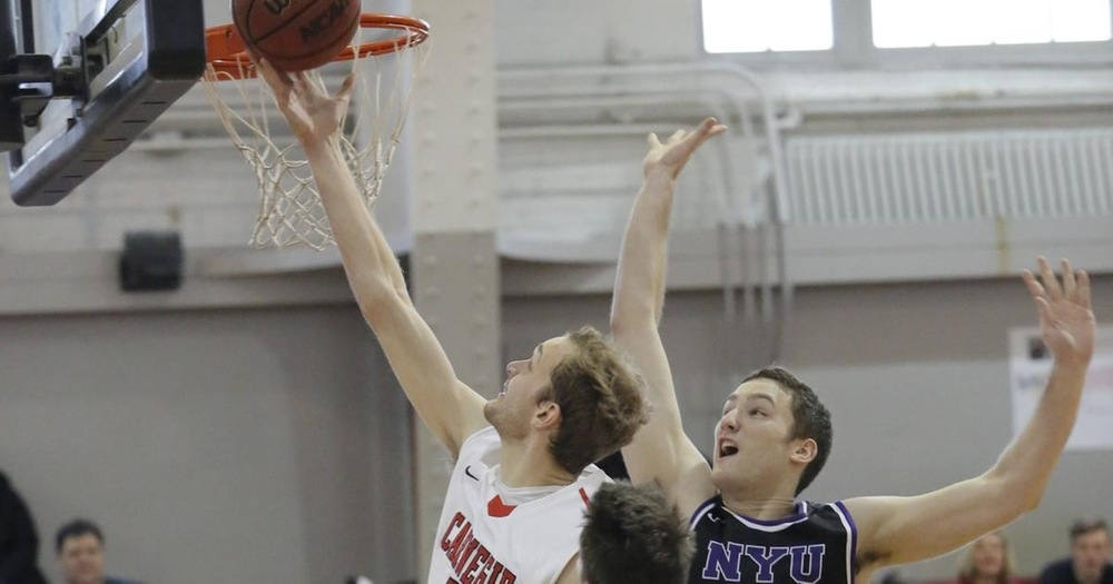 Men's Basketball Ignites on Senior Day to Top NYU 94-58