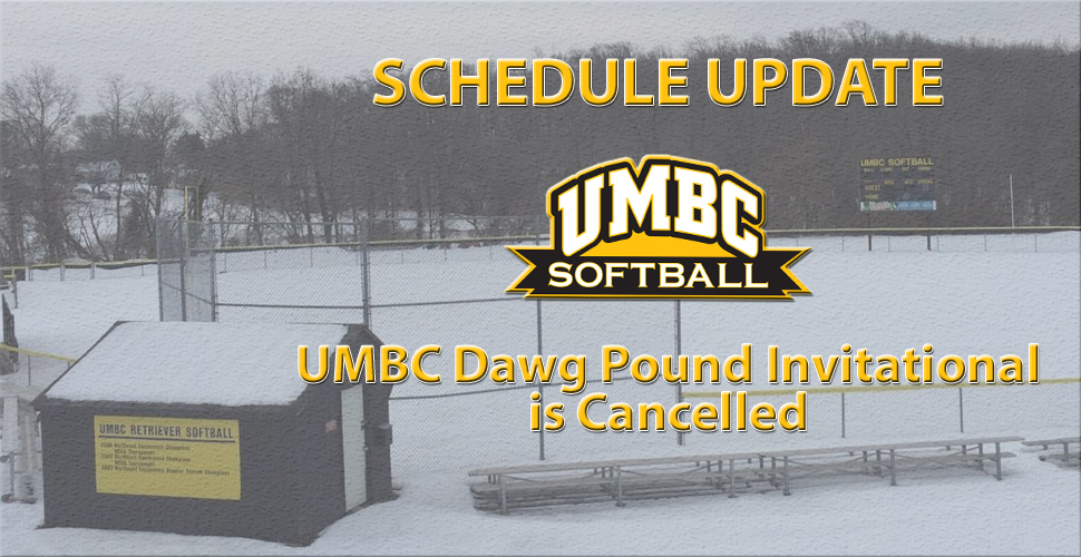 Softball's Dawg Pound Invitational Cancelled