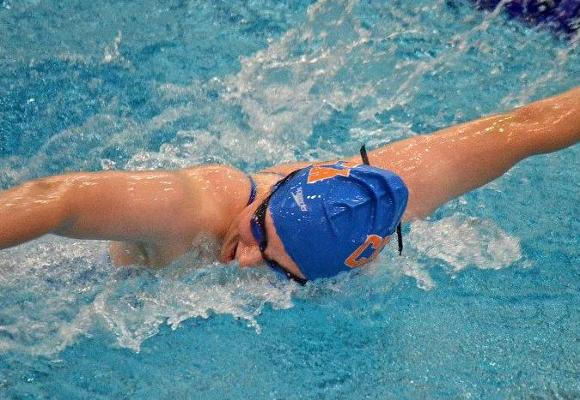 Women's Swimming and Diving 7th after Day Three at NEWMAC's