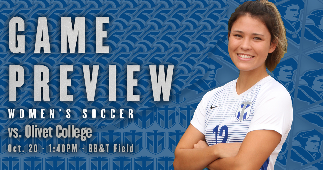 Women's Soccer Hosts Olivet in Final Home Game