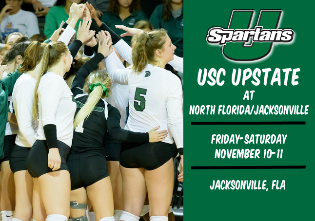 Upstate Heads to North Florida, Jacksonville this Weekend for Regular Season Finale